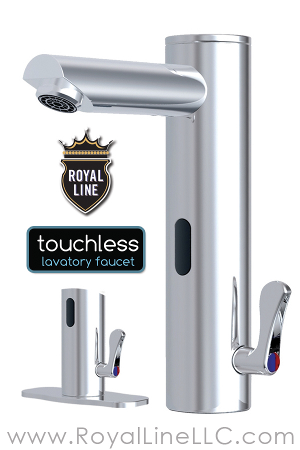 Our Latest Innovation The Royal Line Touchless Bathroom Faucet Motion Sensor