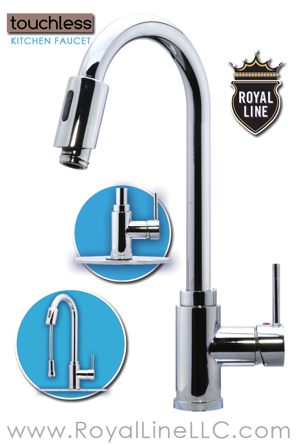 Kitchen Touchless Faucet | Royal Line