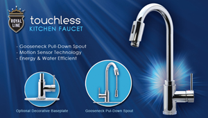 Royal Line Kitchen Touchless Faucet